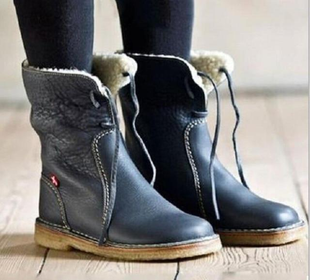 Shoes - Super Soft Warm Leather Boots
