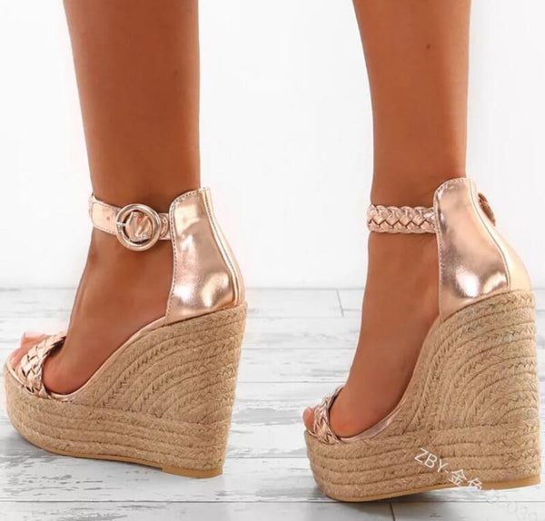Women's Shoes - New Fashion Women Sexy Wedge Sandals