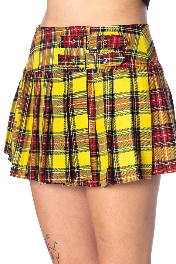 Green Tartan Hot Pant Shorts Gothic Rockabilly Vintage Rock By Banned Apparel