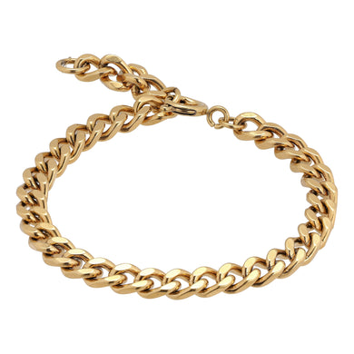 Punk chain bracelet slim