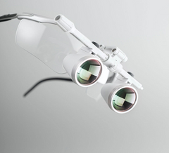 HEINE 2.5x Surgical & Dental Loupes | Flip-up Loupes