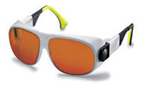 Laservision Glasses For Excimer, Argon, and KTP Laser Use Style F02.P5E01