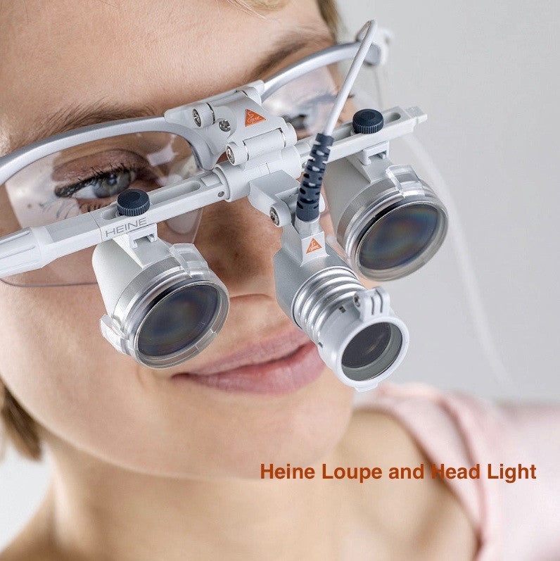 Heine Loupe and  Head Light Sets