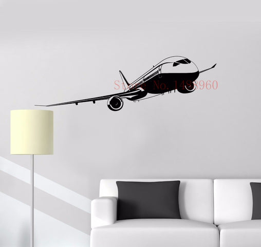 Aircraft Vinyl Wall Sticker