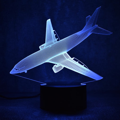 Aircraft 3D LED Night Lamp