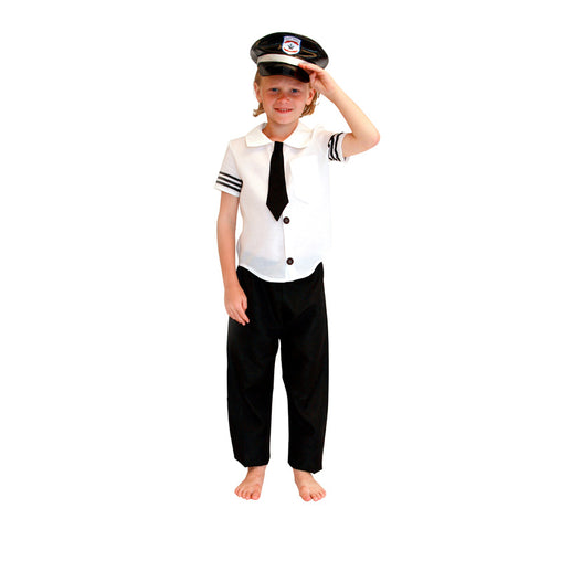 Boy's Airplane Captain Uniform