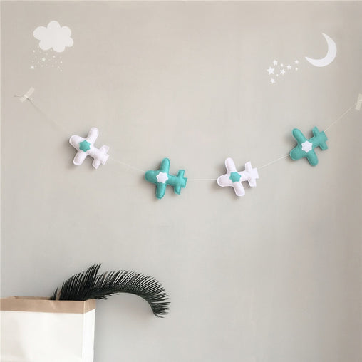 5 Airplane decoration for Infant Room