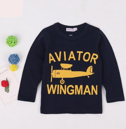 Boys Aviator Wingman T-Shirt