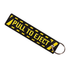 Travel Luggage Pull To Eject Tag