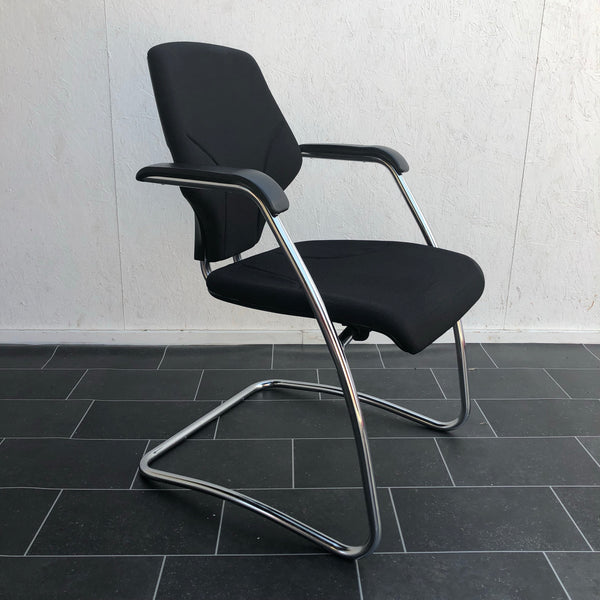 Sled base meeting chair