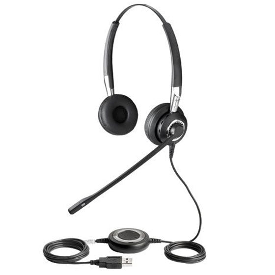 Jabra BIZ 2400 Duo USB Binaural Noise Cancelling Headset