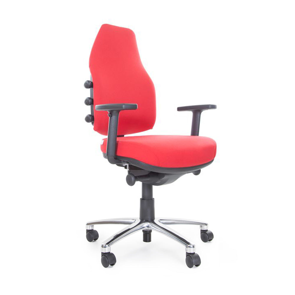 bEXACT Prime High Back Ergonomic Chair (with Polished Base)