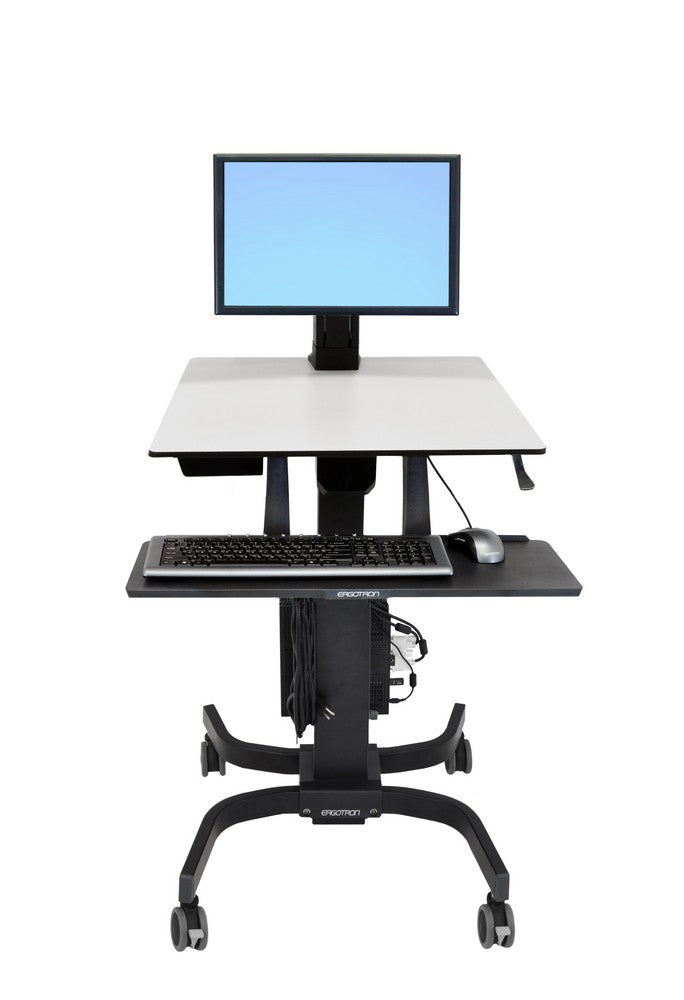 WorkFit-C Single HD Sit-Stand Workstation