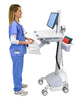 StyleView® Cart with LCD Pivot, SLA Powered