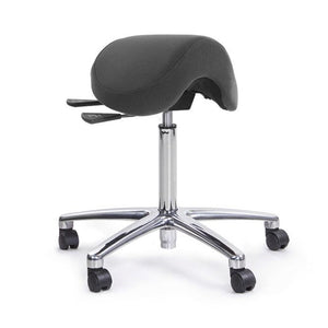 Posture Saddle Stool (with Chrome Gas and Polished Base)