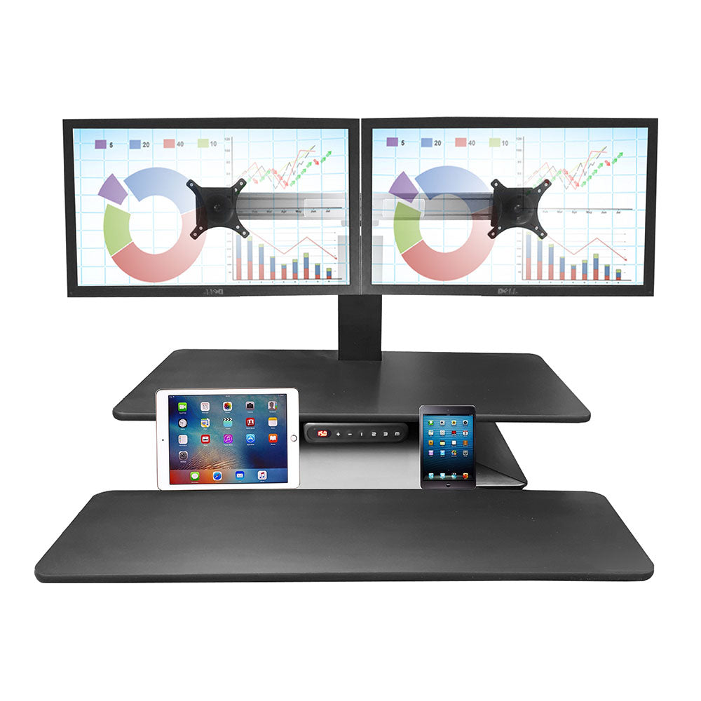 Standesk Memory Dual Electric Sit Stand Workstation