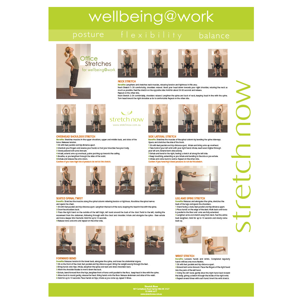 Stretch Poster wellbeing@work