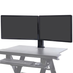 Ergotron WorkFit Universal Dual Monitor Kit Only