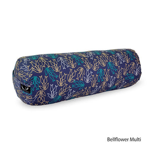 Organic Cotton Yoga Bolster - Printed