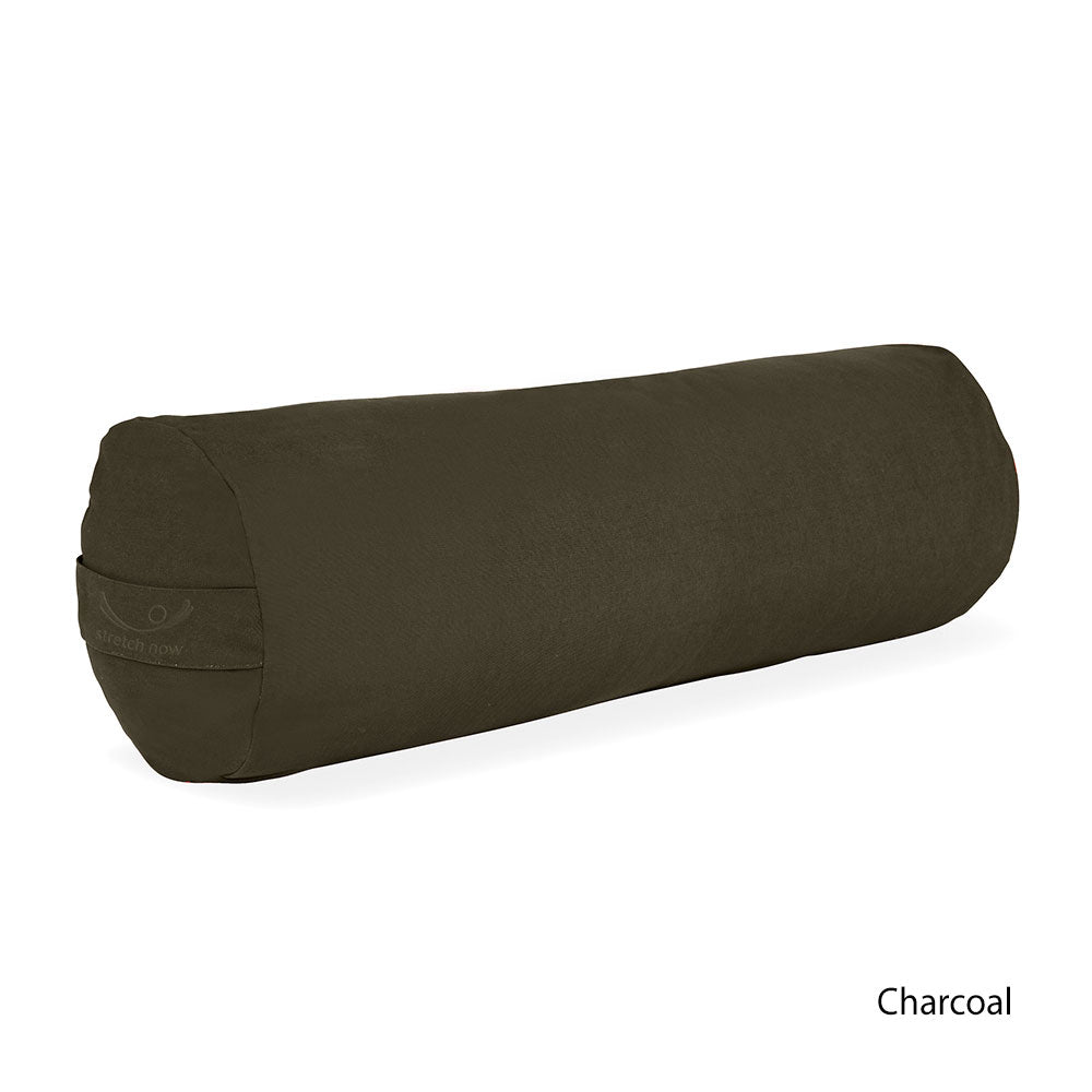 Organic Cotton Yoga Bolster filled with KAPOK
