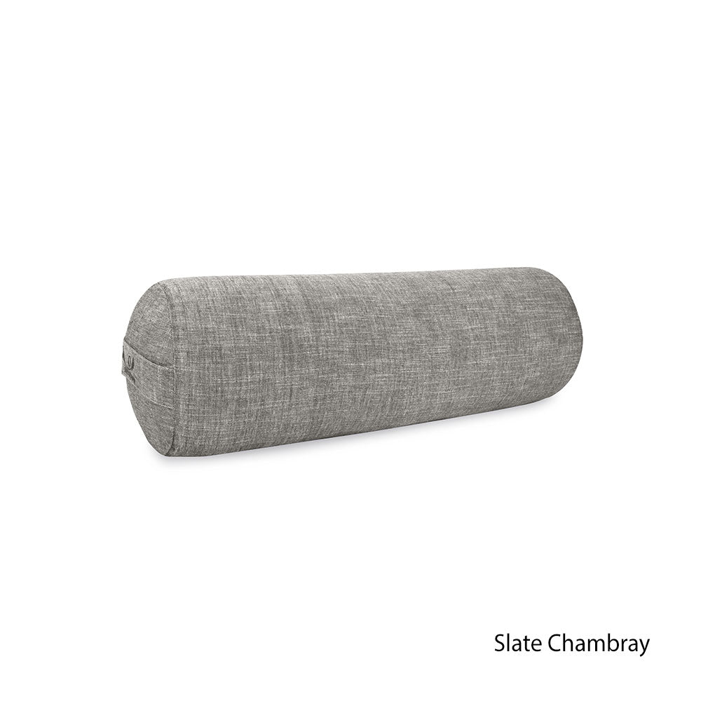 Organic Cotton Yoga Bolster (SMALL) Chambray