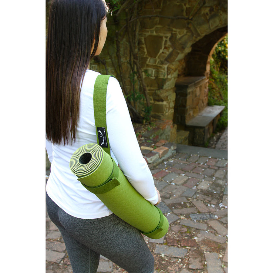 Yoga Mat Carry Strap - Organic Cotton