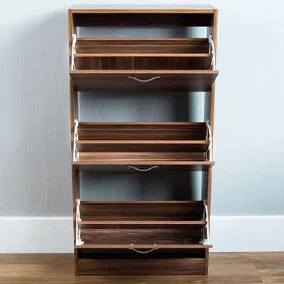 VDA Wooden Shoe Storage Cabinet