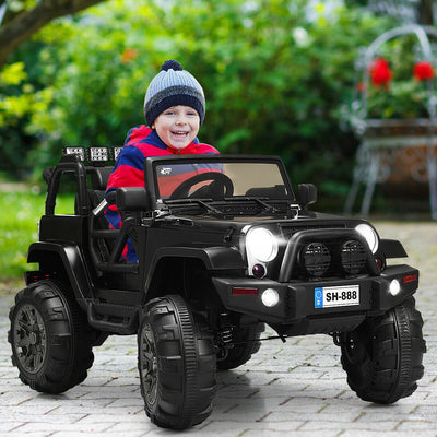 12V Kid's Ride on Truck Electric Vehicle with Light & Music