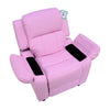 LUX Kids Recliner Pink Kids Chair