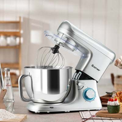 1400W Electric Mixer with 6 Adjustable Speed Kitchen Beater