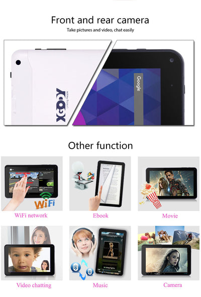 "XG 9"" Android Tablet with 8GB Storage"