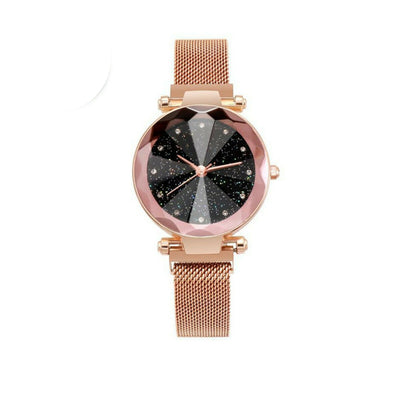 Starry Sky Rose Gold Watch