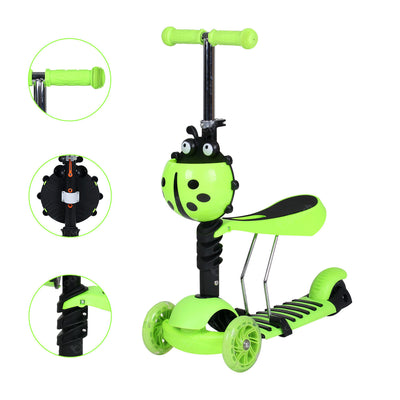 3 in 1 Kids Kick Scooter