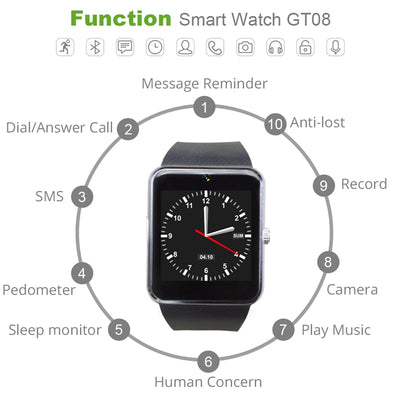 Digital Deluxe Smart Watch