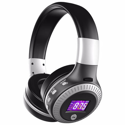 ZLOT Bluetooth Wireless Headphones with Noise cancelling/Mic