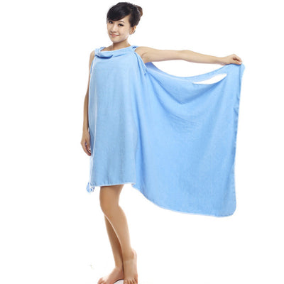 Wearable Bath Towel