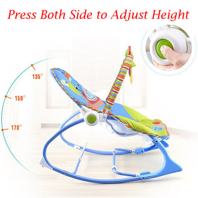 Portable Baby Swing with Music and Vibration