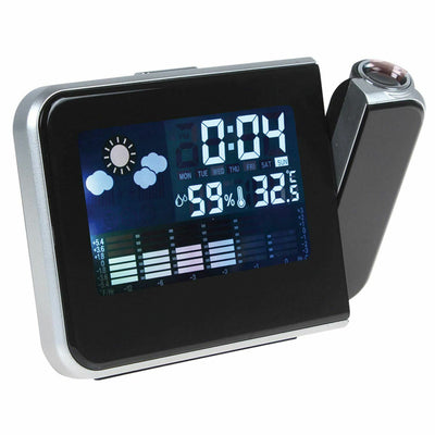 Digital Projection Alarm Clock LED With Temperature Weather Station