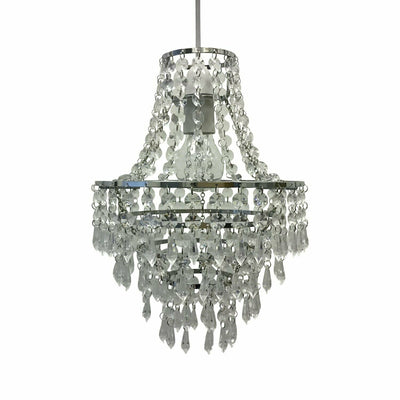 Modern Rain Drop Crystal Chandelier