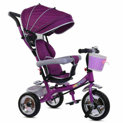 4 in 1 Baby Push Along Tricycle