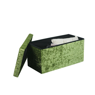 Quilted Top Folding Storage Box
