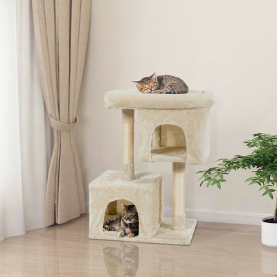 Medium (82cm) Cat Tree Condo - Beige