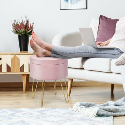 LUX Ottoman Footstool with Storage
