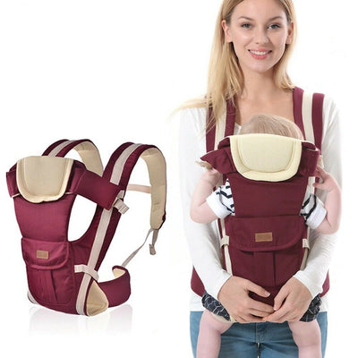 Adjustable Breathable Infant Baby Carrier Ergonomic Wrap Sling