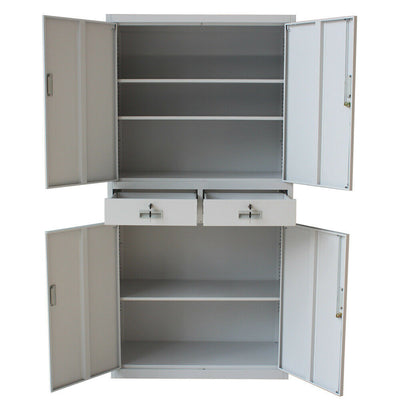Office Storage 4 Door Filing Cabinet