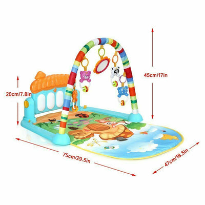 4 in 1 Fitness Music Fun Playmat