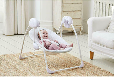 Deluxe Foldable Baby Bouncer