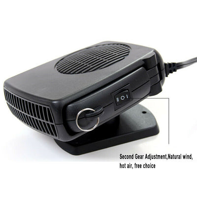 Plug-in Ceramic Car Heater 12V