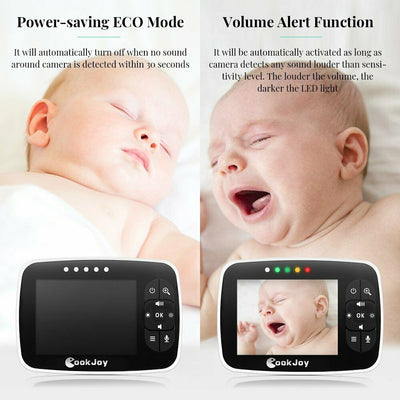 3.5'' Baby Monitor Wireless Video with Auto Talk