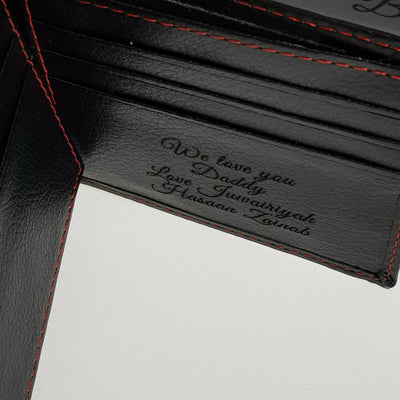 Engraving Men's Wallets